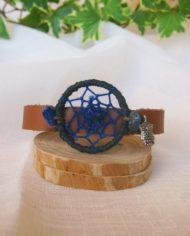 braccialetto acchiappasogni Lapislazzuli